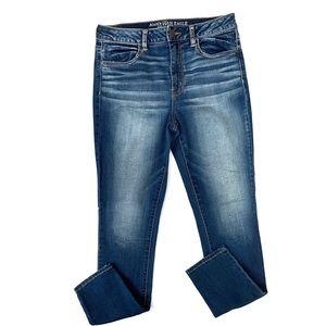 American Eagle Lightwash Super Stretch Skinny Jean